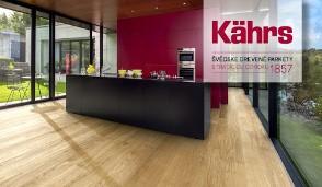 Drevené parkety značky Kährs