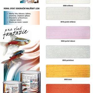 Dekoratívne farby - Remal